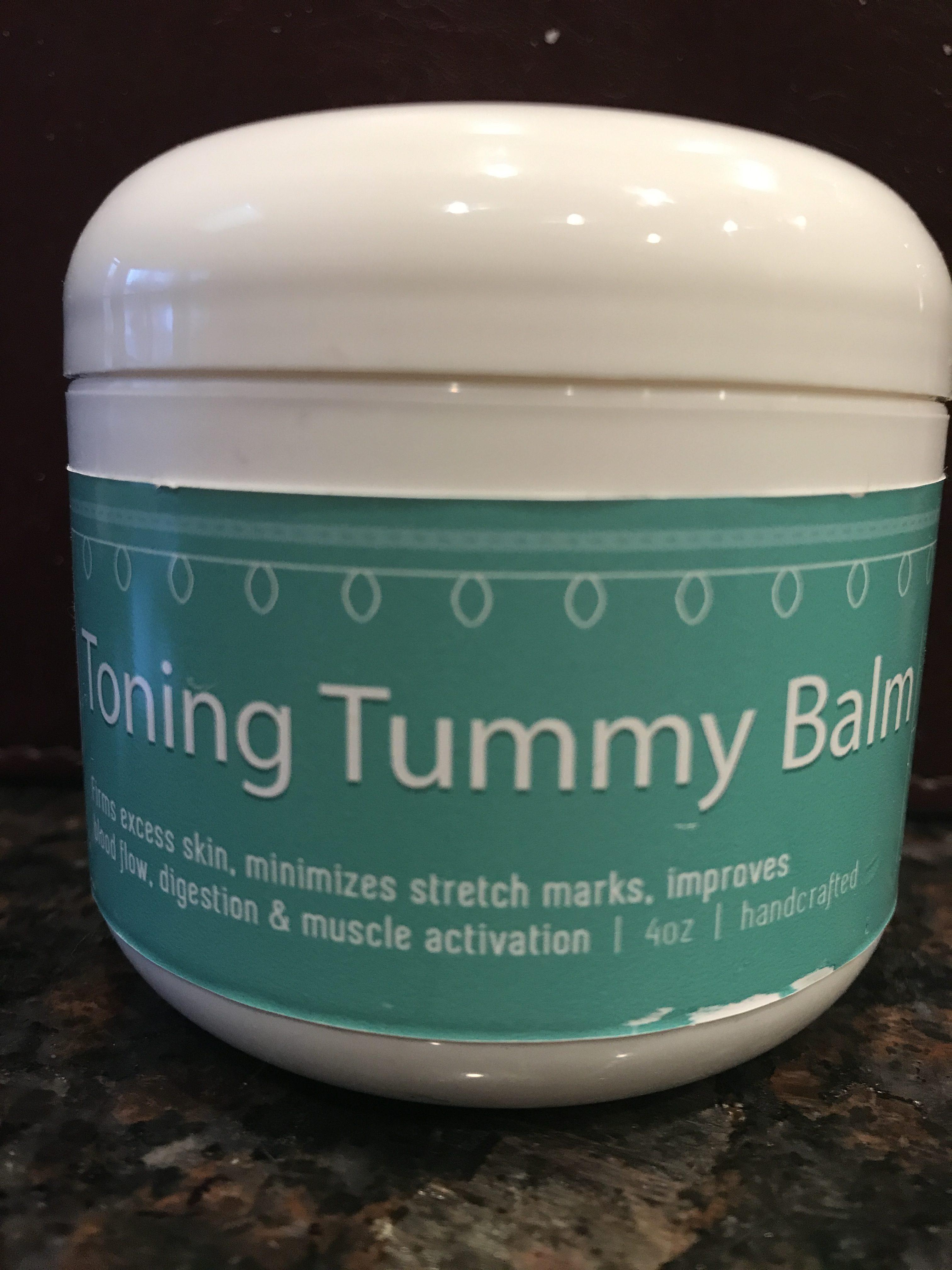 Toning Tummy Balm